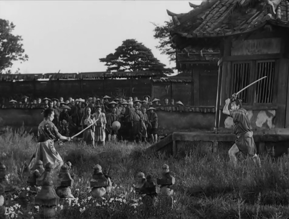 The finished product: One of, if not arguably, the greatest swordfight scenes in Japanese film history.